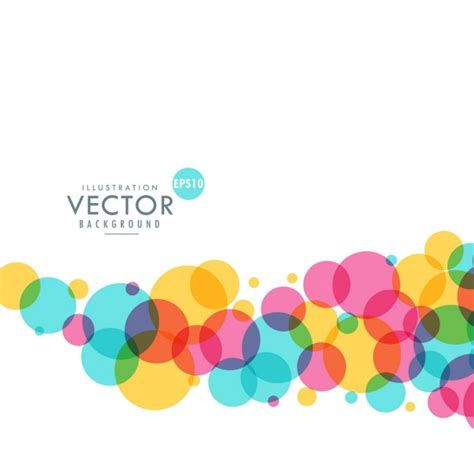 colorful dots background of colorful dots vector free