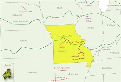 united states map missouri missouri