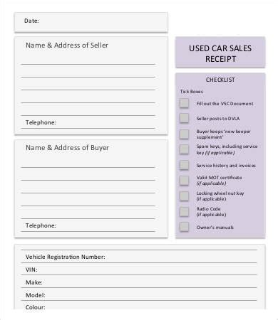 personal sales receipt template free sales receipt template for small business