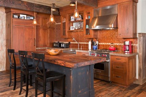 rustic kitchen island ideas 20 rustic kitchen island designs ideas design trends