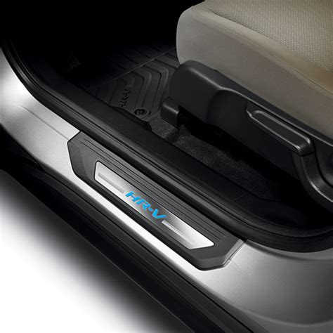 2016 2018 honda hr v illuminated door sill trim 08e12