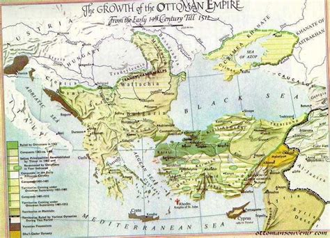 The Ottoman Centuries The Maps Of Ottoman Empire