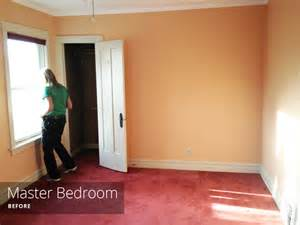 painting the master bedroom rather square