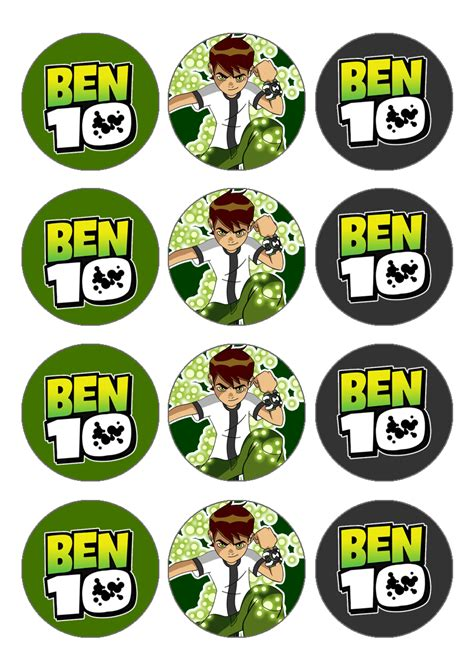 ben 10 printable party decorations affichage de img07 png ben 10 pinterest ben 10 ben
