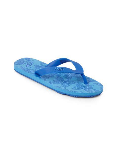 blue ugg slippers ugg flip flop slippers blue