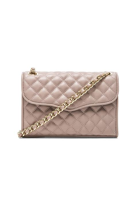 Minkoff Quilted Affair Mini by Minkoff Quilted Mini Affair In Gray Tortora Lyst