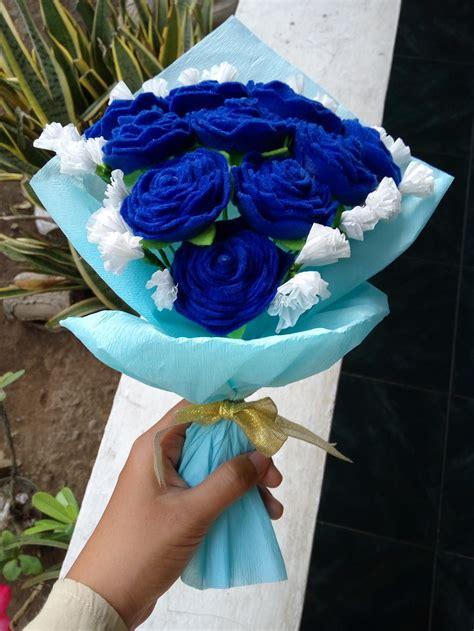 Wallpaper Dinding Warna Hijau Toska Bunga Mawar gambar wallpaper bunga mawar biru gudang wallpaper