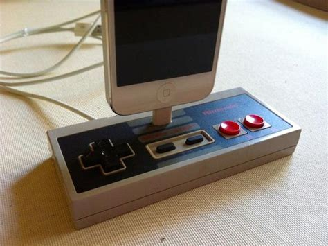 Diy Charging Stations Nes Controller Docking Station For Iphone 5 Gadgetsin