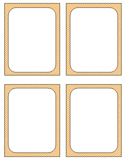snap card template 3 6 free resources blank review flash cards