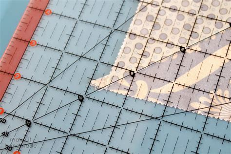 Squaring A Quilt Block by Make It Handmade Square A Quilt Block Without A