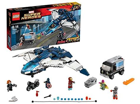 Lego Ori The Quinjet City lego heroes 76032 the quinjet toys