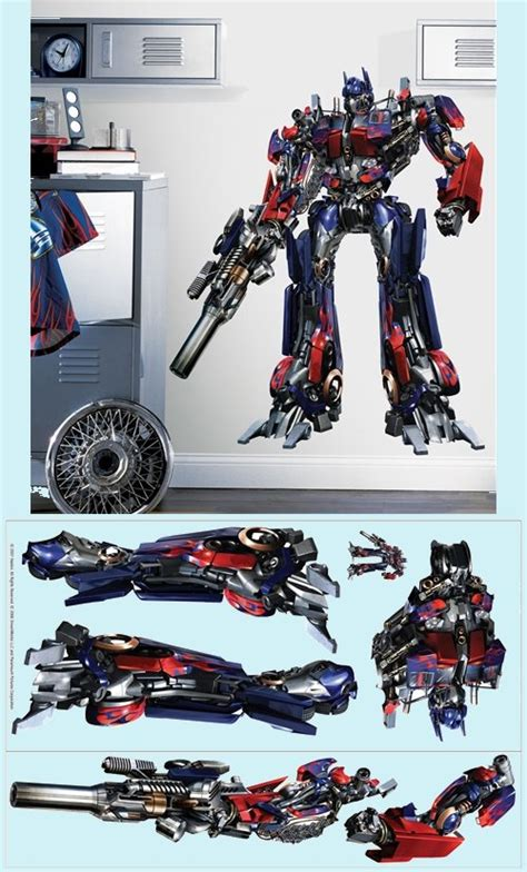 transformers wall stickers transformers the wall mural wall decor store