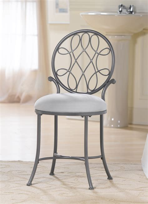 small bathroom chairs hillsdale omalley vanity stool 50946a