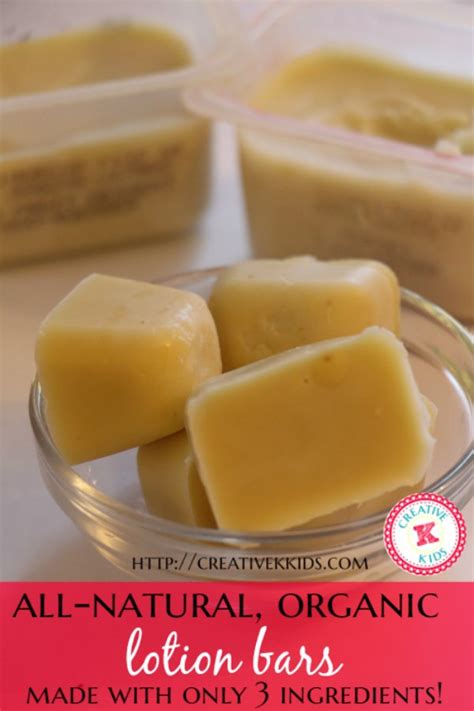 Handmade Lotion Bars - easy diy lotion bars creative k