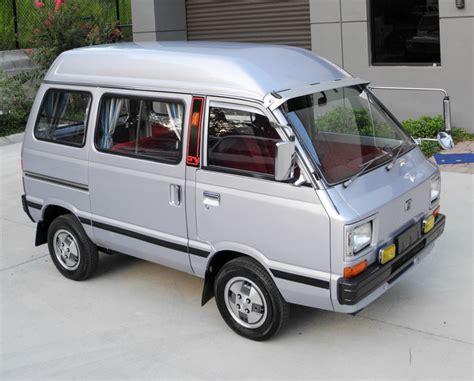 subaru minivan 1980 subaru sambar try jdm kei micro mini keep