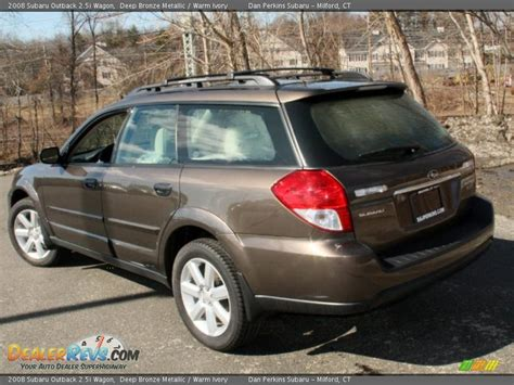 2008 subaru outback wagon 2008 subaru outback 2 5i wagon bronze metallic warm