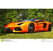 Sports Cars Super Lamborghini Aventador Editorial Stock Image