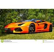 Sports Cars Super Lamborghini Aventador Editorial