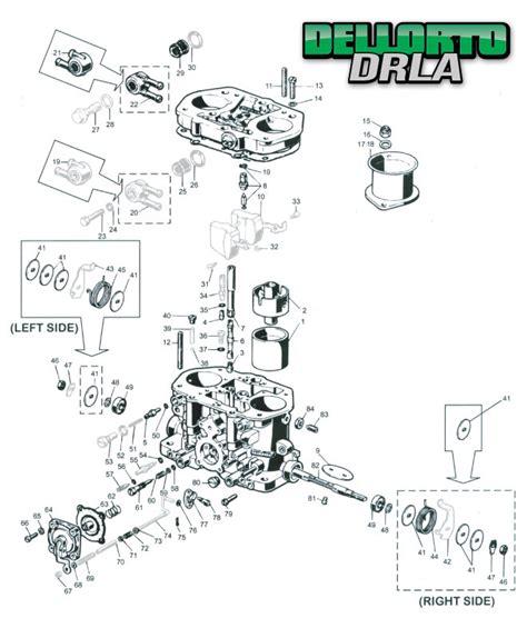Dellorto Dhla Diagram