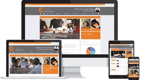 sharepoint responsive template find the best sharepoint intranet templates collab365
