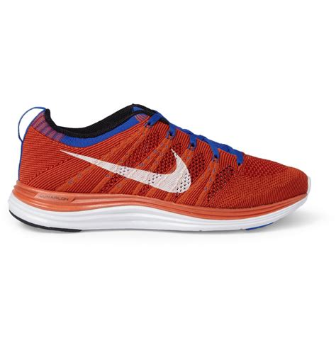nike knit fly nike fly knit lunar 1 sneakers in for lyst