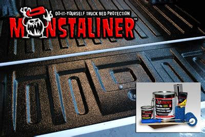 best do it yourself bed liner tame your bedliner beast with monstaliner garage girls