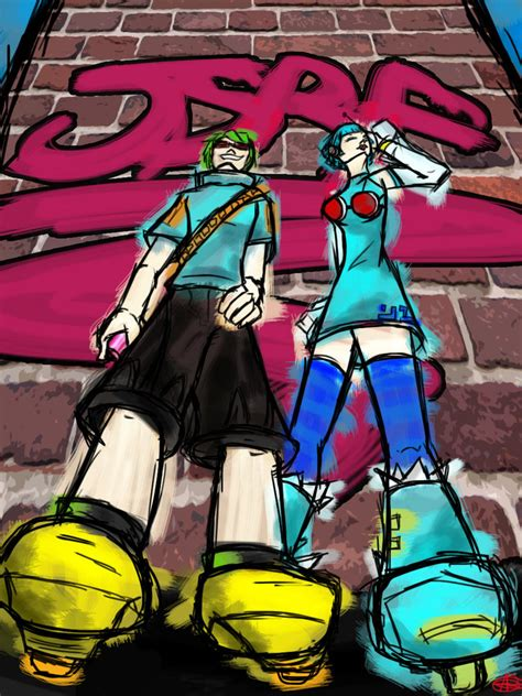 aptoide jet set radio yoyo and rhyth jet set radio future by inkroze on deviantart
