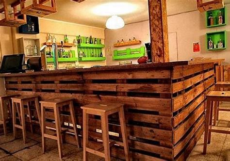 Bar Top Ideas Wood by Recycled Pallet Wood Bar Ideas Pallet Wood Projects