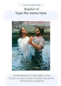 25 best ideas about baptism program on pinterest lds