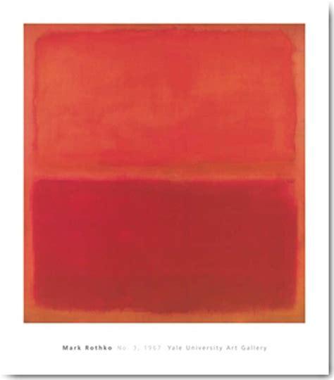 Rothko Kunstdruck rothko no 3 1967 ii kunstdruck 71x81