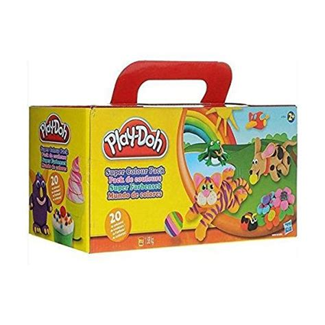 Doh Extruder Limited hasbro play doh colour multi coloured pack of 20 at shop ireland