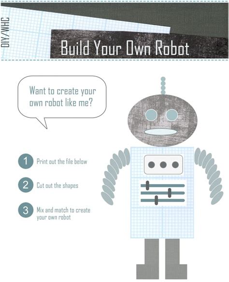 create your own robot 17 best ideas about create your own robot on science bedroom create your and create