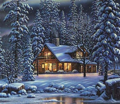 desktop nexus christmas winter winter cottage winter nature background wallpapers on desktop nexus image 919848