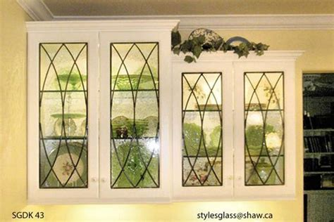 kitchen cabinet door leaded glass inserts design sgdk 2000 wow