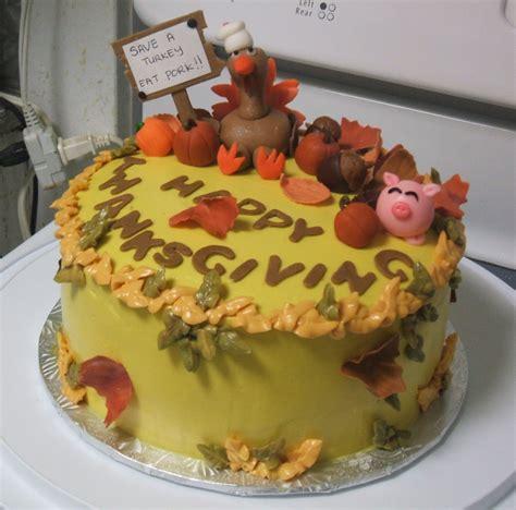 thanksgiving cakes decoration ideas  birthday cakes