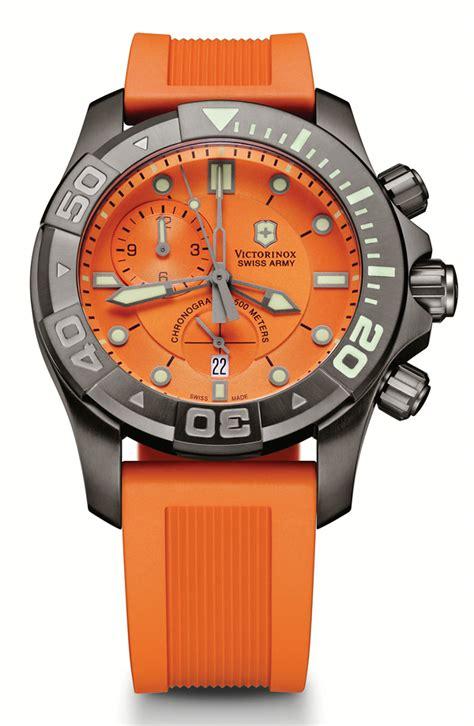 Swiss Army Ravva Hitam Orange What If Swiss Army Dive Master 500 Chronograph