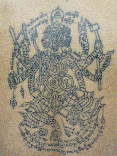 sak yant thai temple tattoos 493