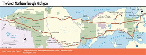 map of northern usa the great northern route us 2 road trip usa