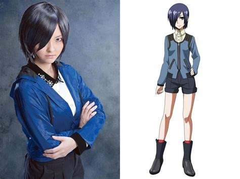 up stage play to anime cast the tokyo ghoul stage play cast all dressed up kotaku