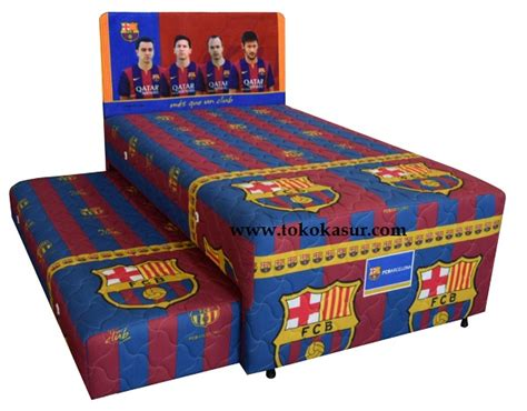 Kasur Bed Ukuran No 1 big 2in1 barcelona toko kasur bed murah simpati furniture