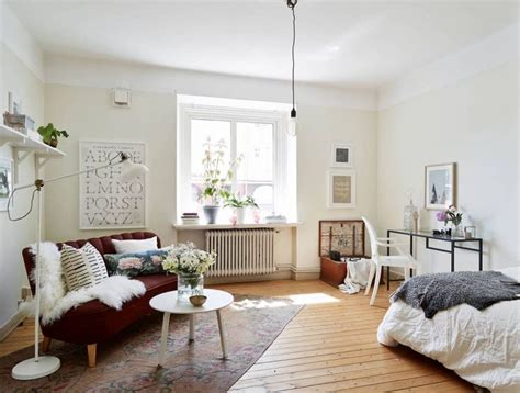 15 Stylish Small Studio Apartments Decorations That You