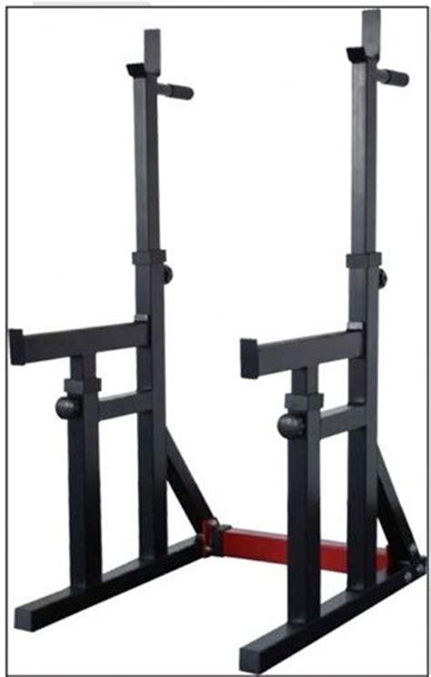 Dip Squat Rack by Ajustable Squat Rack Dip Stand Trojan Fitness