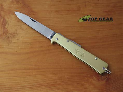 mercator knife mercator folding pocket knife brass k10 7826