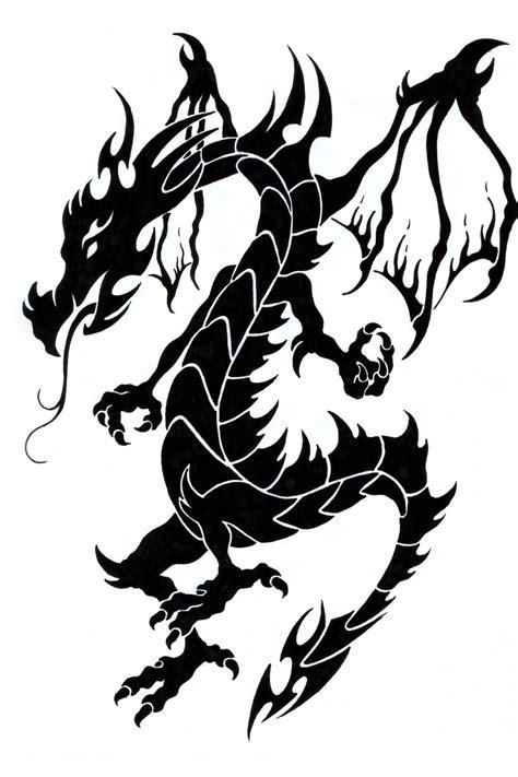 black dragon tattoo designs 52 tribal tattoos designs