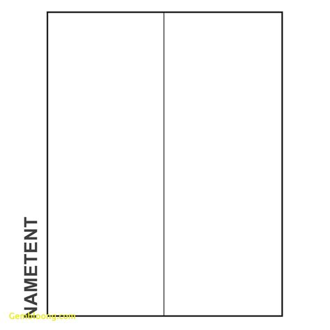 blank card template for word beautiful tent card template word best templates