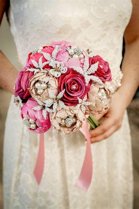 Handmade Silk Flowers - wedding bouquet made to order a garden