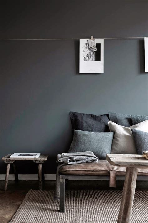 wall color inspiration inside a moody gray home in sweden grey walls