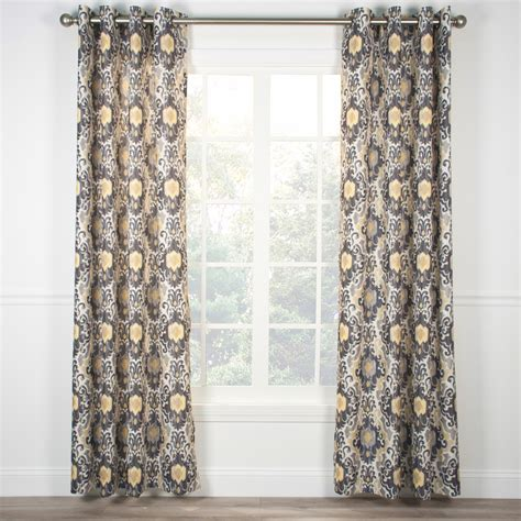 tuscany curtains tuscany grommet top curtain panel