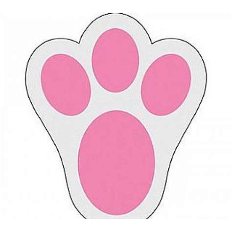 bunny footprints clipart
