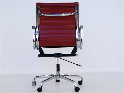 alu design helm chairs eames chair alu ea117 dark red